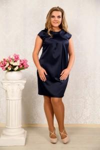 Синее платье 004 - последний 46р