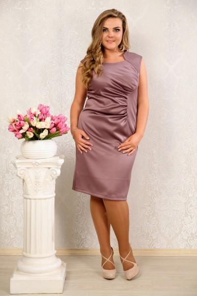 сливовое платье 008 - последний 46р, 50р