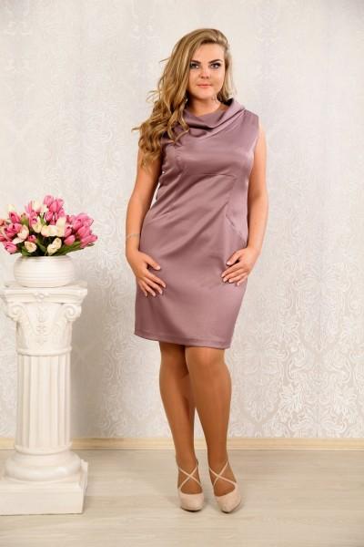 Сливовое платье 011 - последний 44р, 46р, 50р