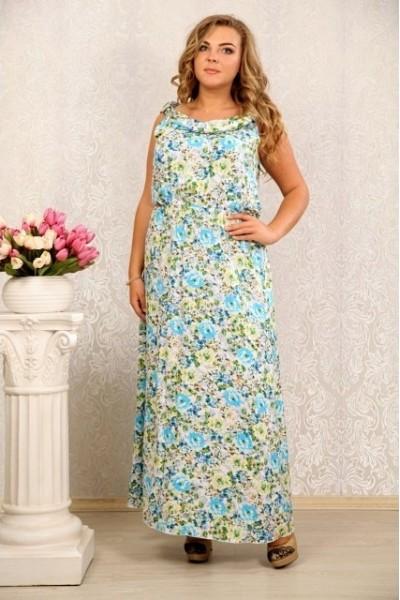 Цветное платье 030 - последний 44р