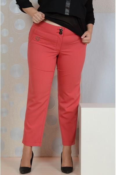 Коралловые брюки 003