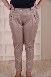 Бежевые брюки 015