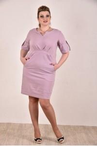 Сиреневое платье 0285-1