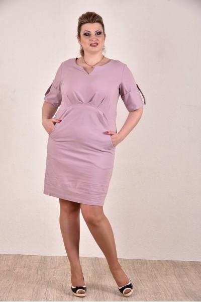 Сиреневое платье 0285-1 - последний 52р