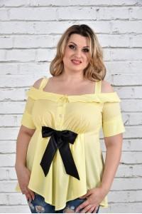 Желтая блузка 0331-2