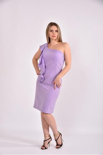Сиреневое платье 0477-1 - последний 44р