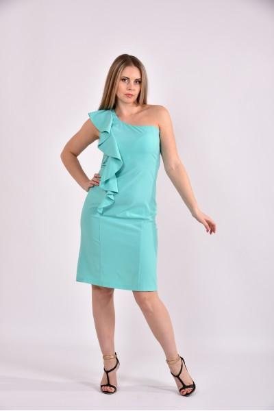 Ментоловое платье 0477-3 - последний 44р