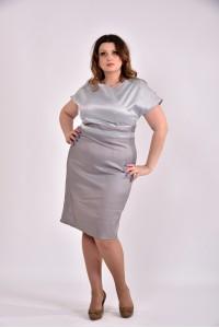 Серое платье 0479-3