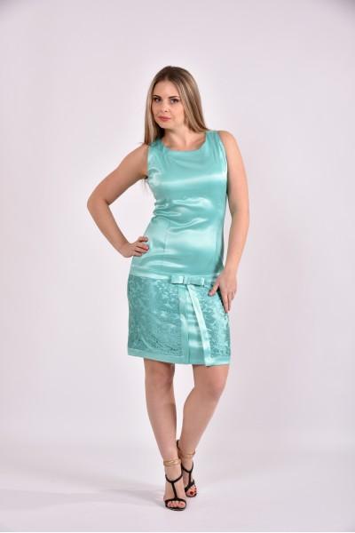 Платье бирюза 0482-3 - последний 44р