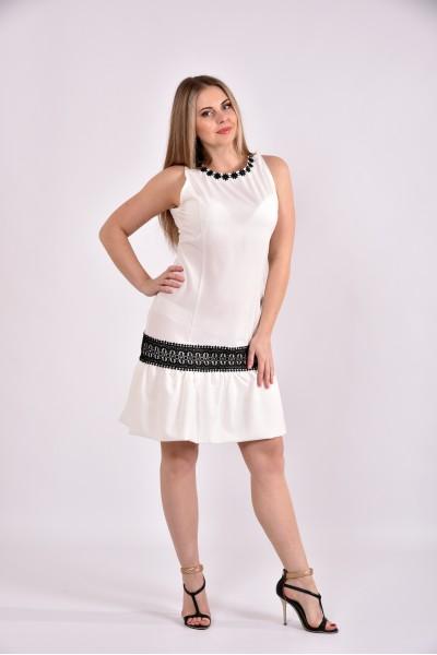 Платье молоко 0490-1