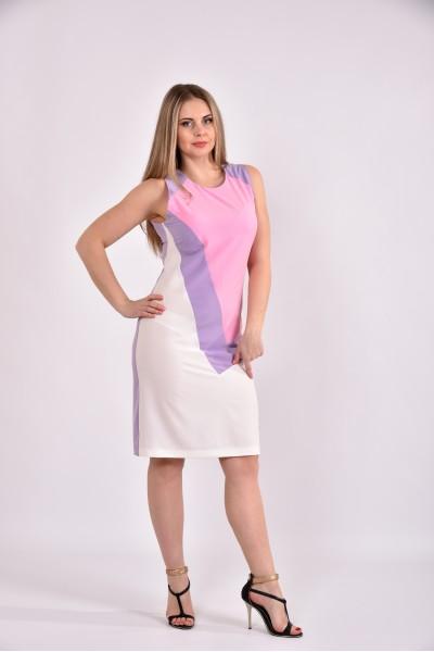 Сиреневое платье 0492-2