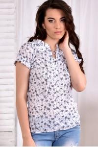 Светлая блузка 0545-1