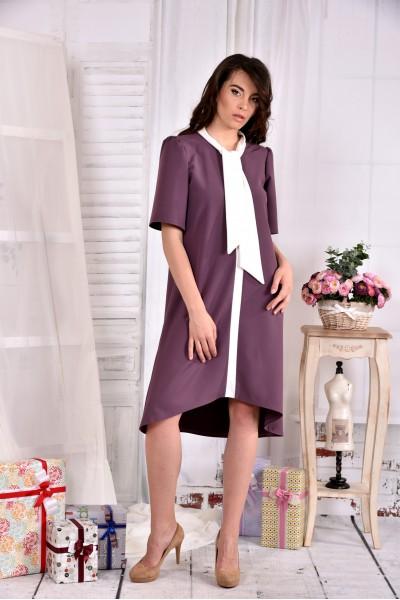 Платье бисквитного цвета 0556-3 - последний 44р