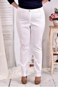 Светлые брюки классического стиля 030-4