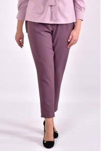 Бисквитные стильные брюки по щиколотку | b031-1