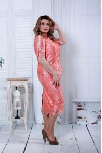 Красивый розовый костюм | 0797-2