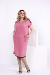 Нежное платье цвета фрезия | 0853-2