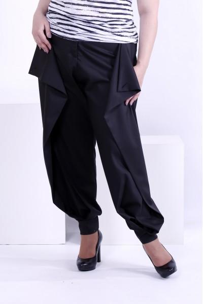 Черные брюки по щиколотку | b039-3