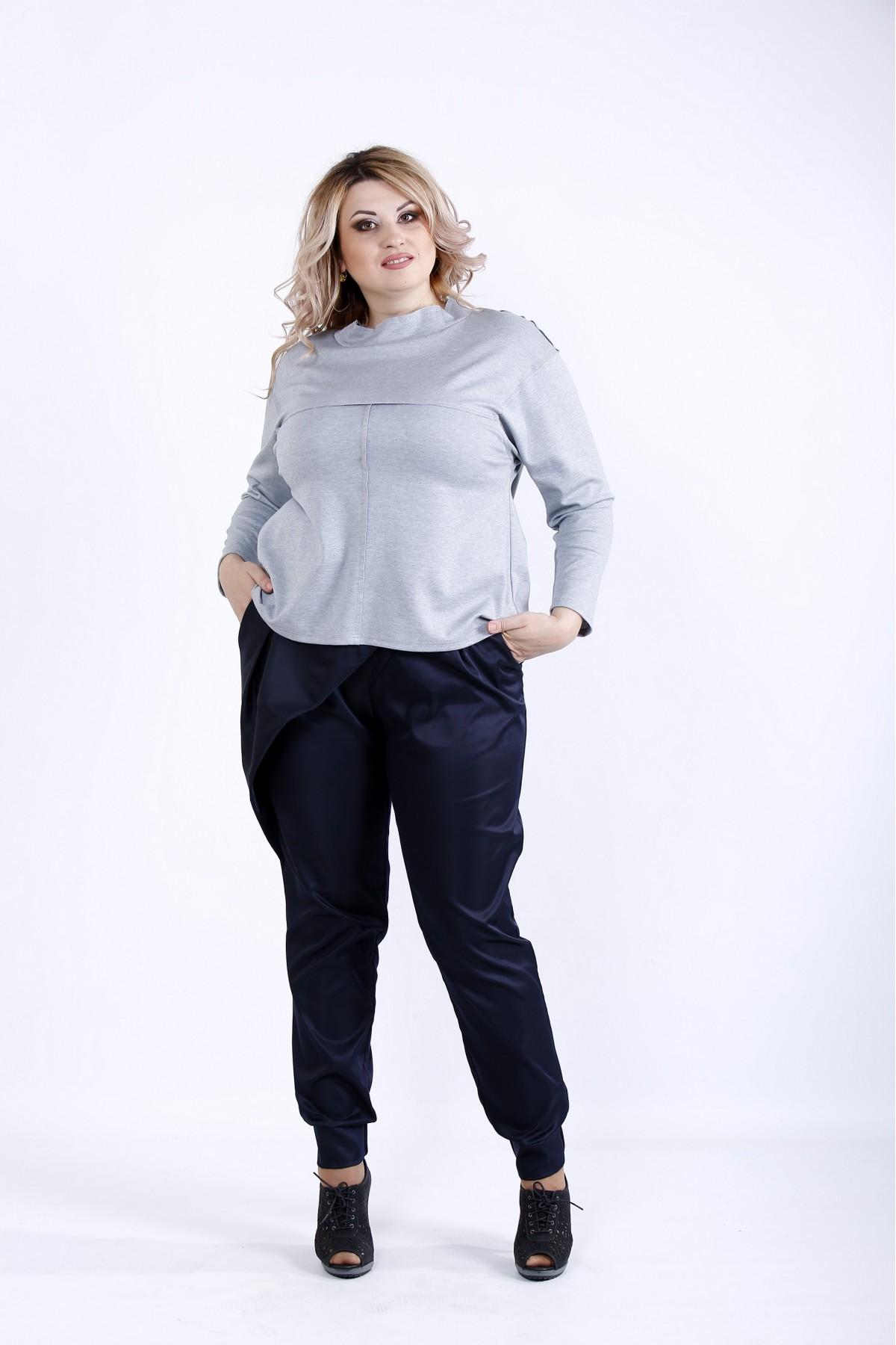 0885-3 | Светлая блузка с длинным рукавом