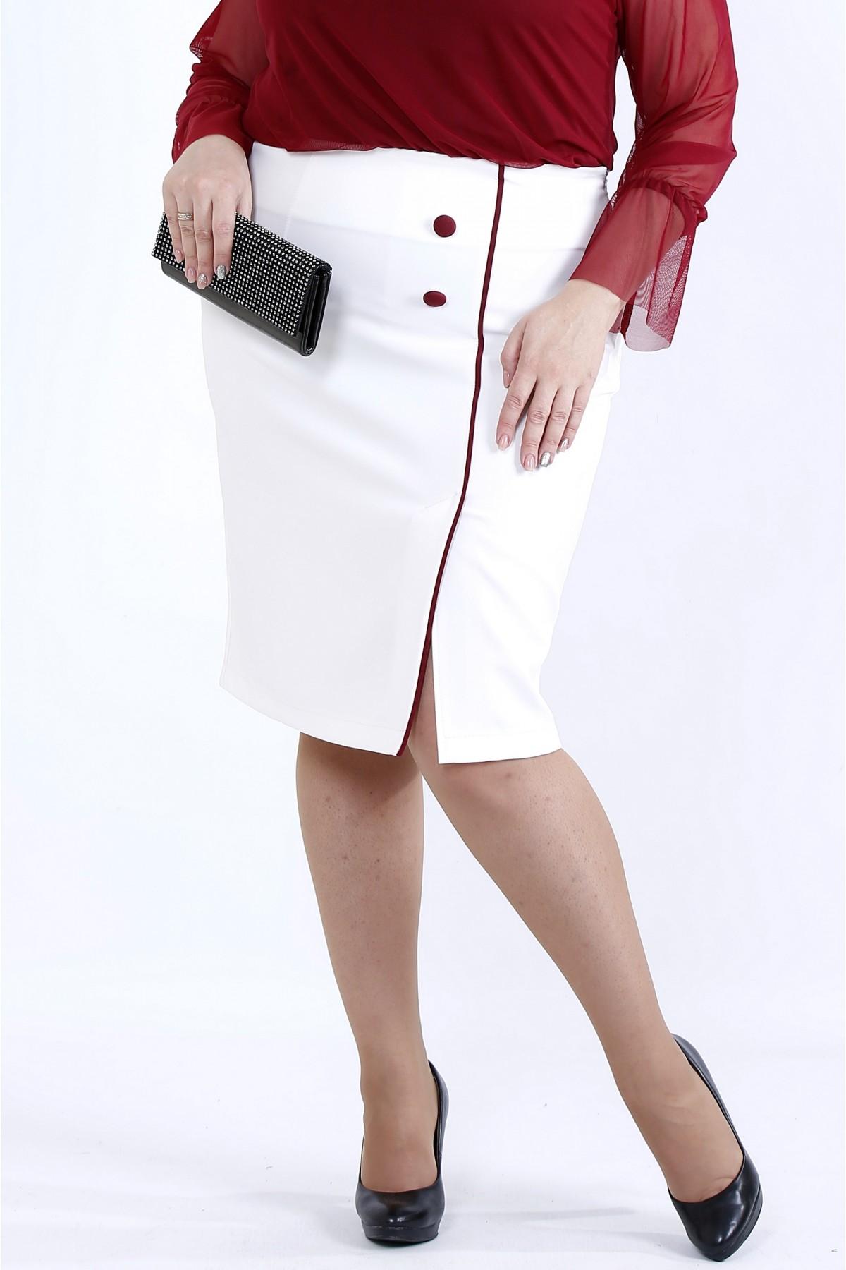 0902-2 | Юбка с красным кантом