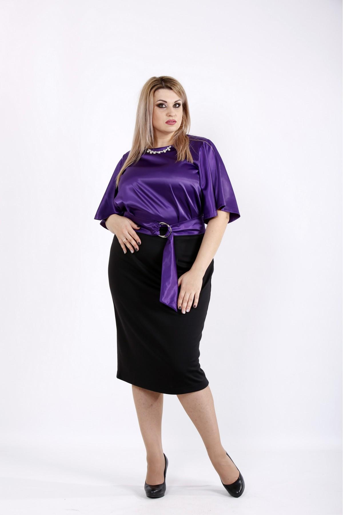 Фиолетовое платье | 0934-1