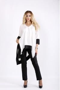 Черно-белый костюм | 0937-3