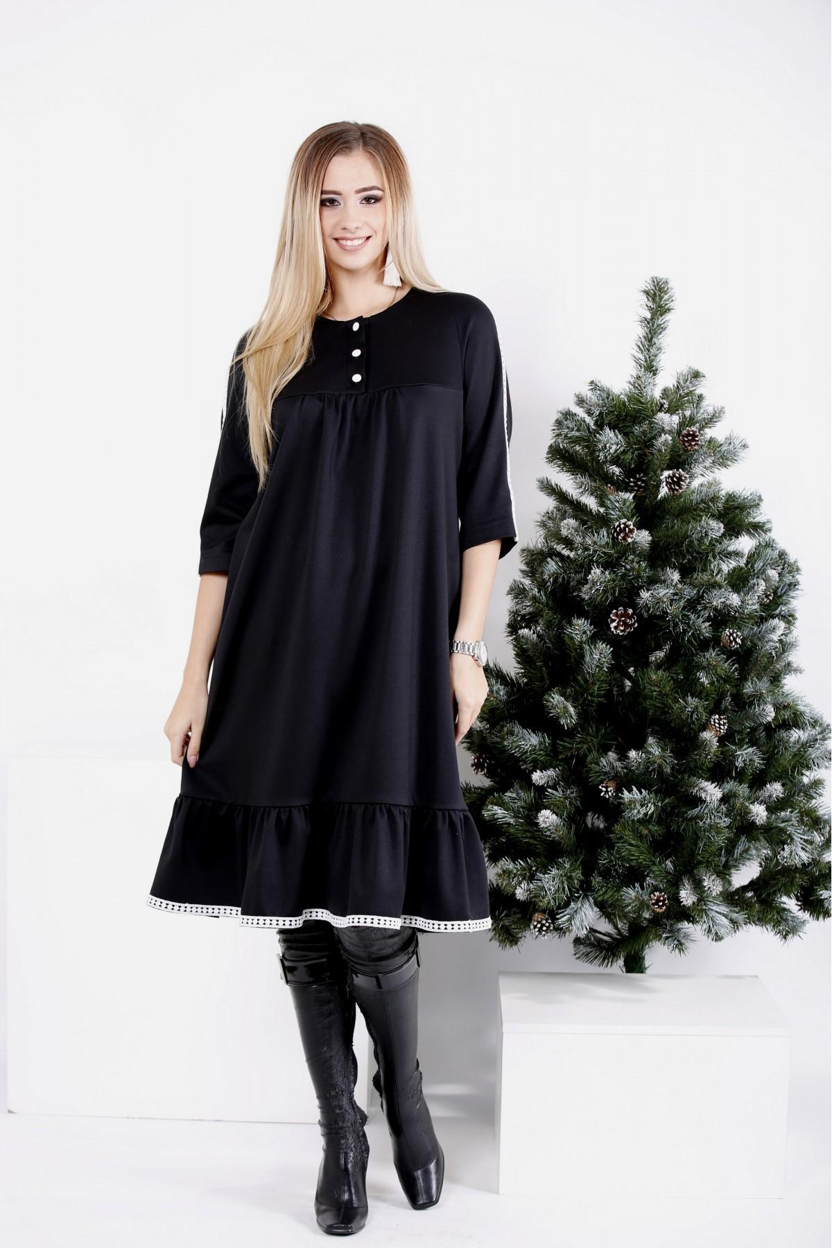 0987-1 | Черное платье