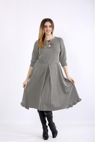 01085-1   Платье с пышной юбкой