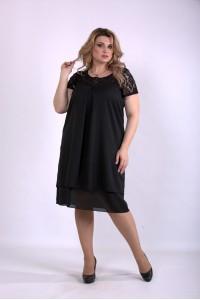 01158-2 | Черное летнее платье