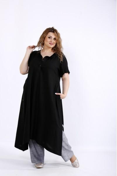 01203-2 | Льняной легкий комплект: туника и штаны