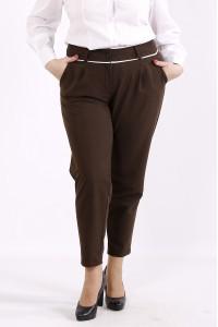 b064-3 | Коричневые удобные брюки