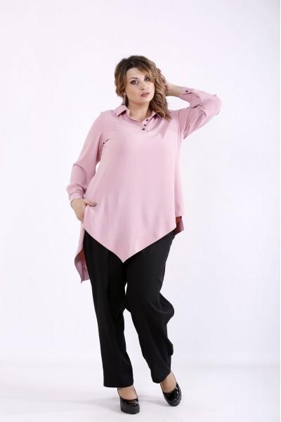01281-2 | Костюм: блузка фрезия и черные брюки