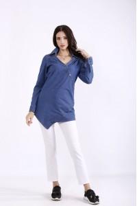j01285-1 | Джинсовая блузка
