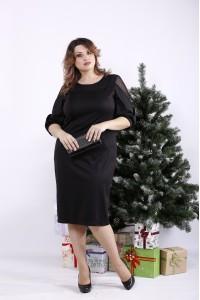 01341-1 | Черное стильное платье