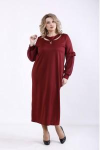 01361-1 | Бордовое платье