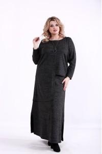 01371-3   Черный костюм из ангоры