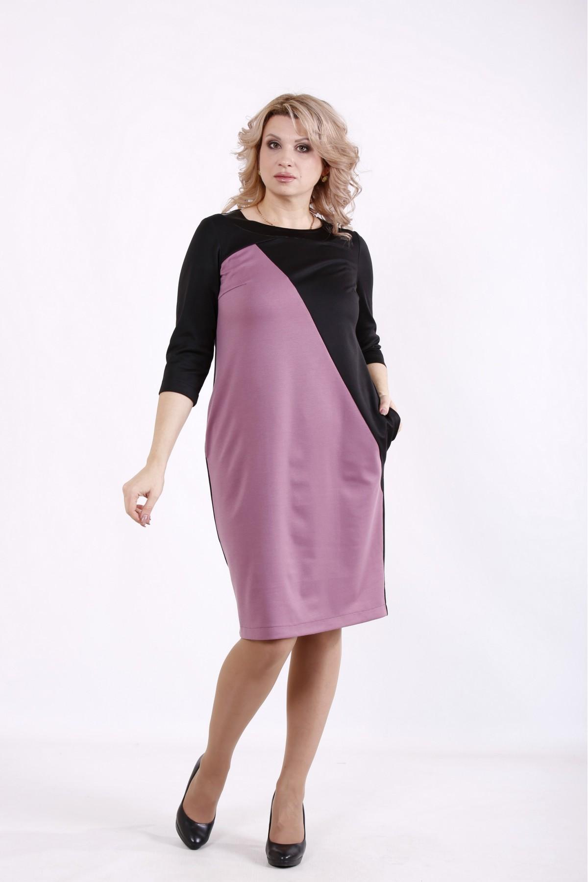 01721-3   Черно-розовое платье