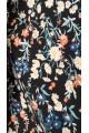Легкое платье в пол с цветами ДРУГОЙ ПРИНТ! | 0858-2 - последние  56. 58. 74р
